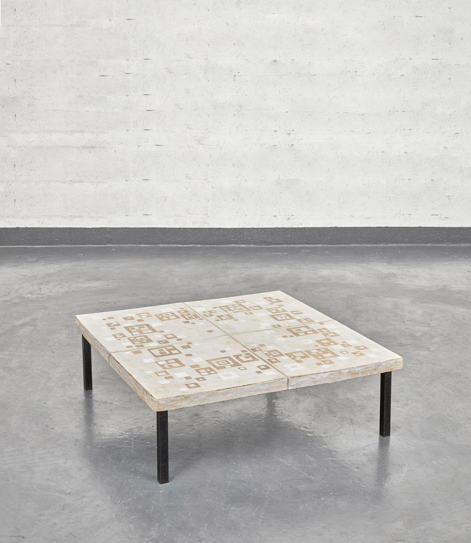 André Borderie, Table basse, vue 01