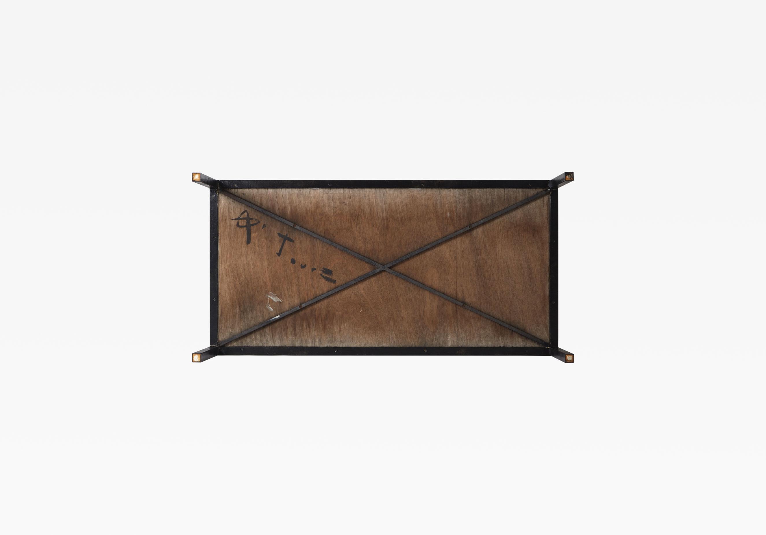 Georges Jouve, Table basse en céramique, vue 04