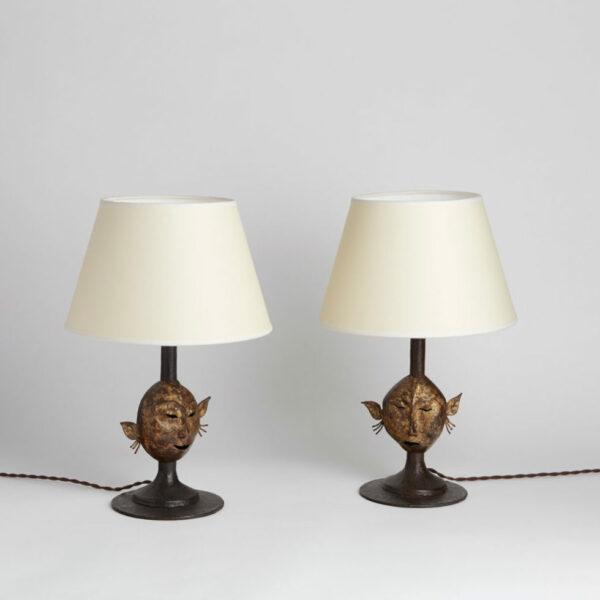 Jean-Charles Moreux, Paire de lampes