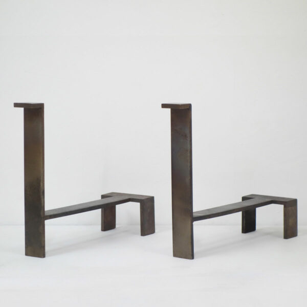 Jacques Quinet, Pair of andirons