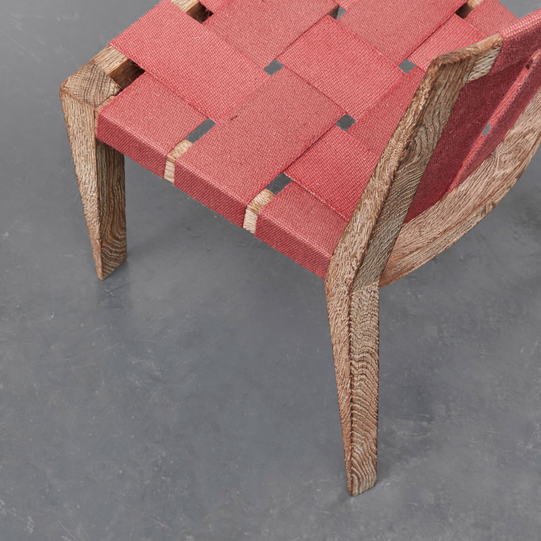"""Jean Royère, Set of 4 """"Sangles"""" chairs, vue 03"""