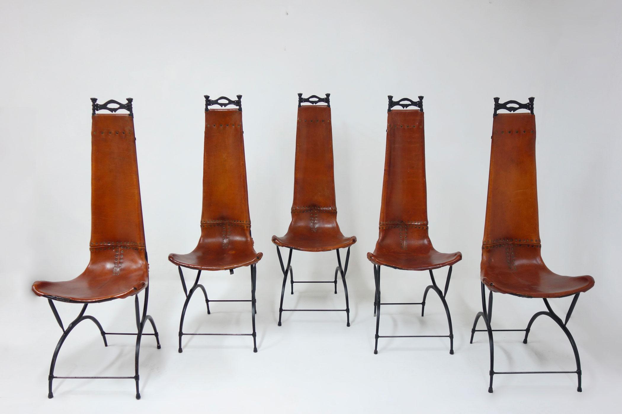 Francois Thevenin et Sido Thevenin, Ensemble de 10 chaises, vue 02