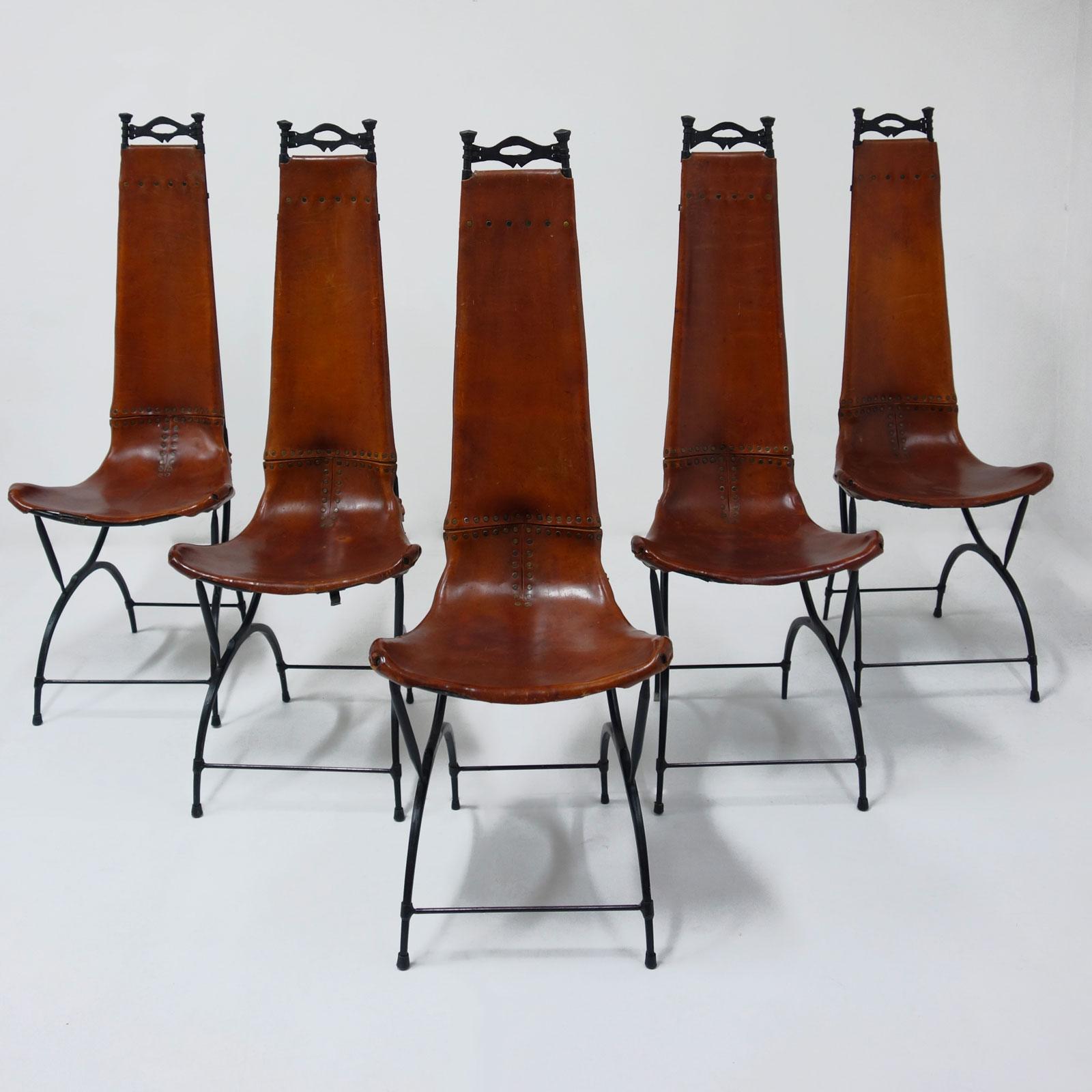Francois Thevenin et Sido Thevenin, Ensemble de 10 chaises, vue 01