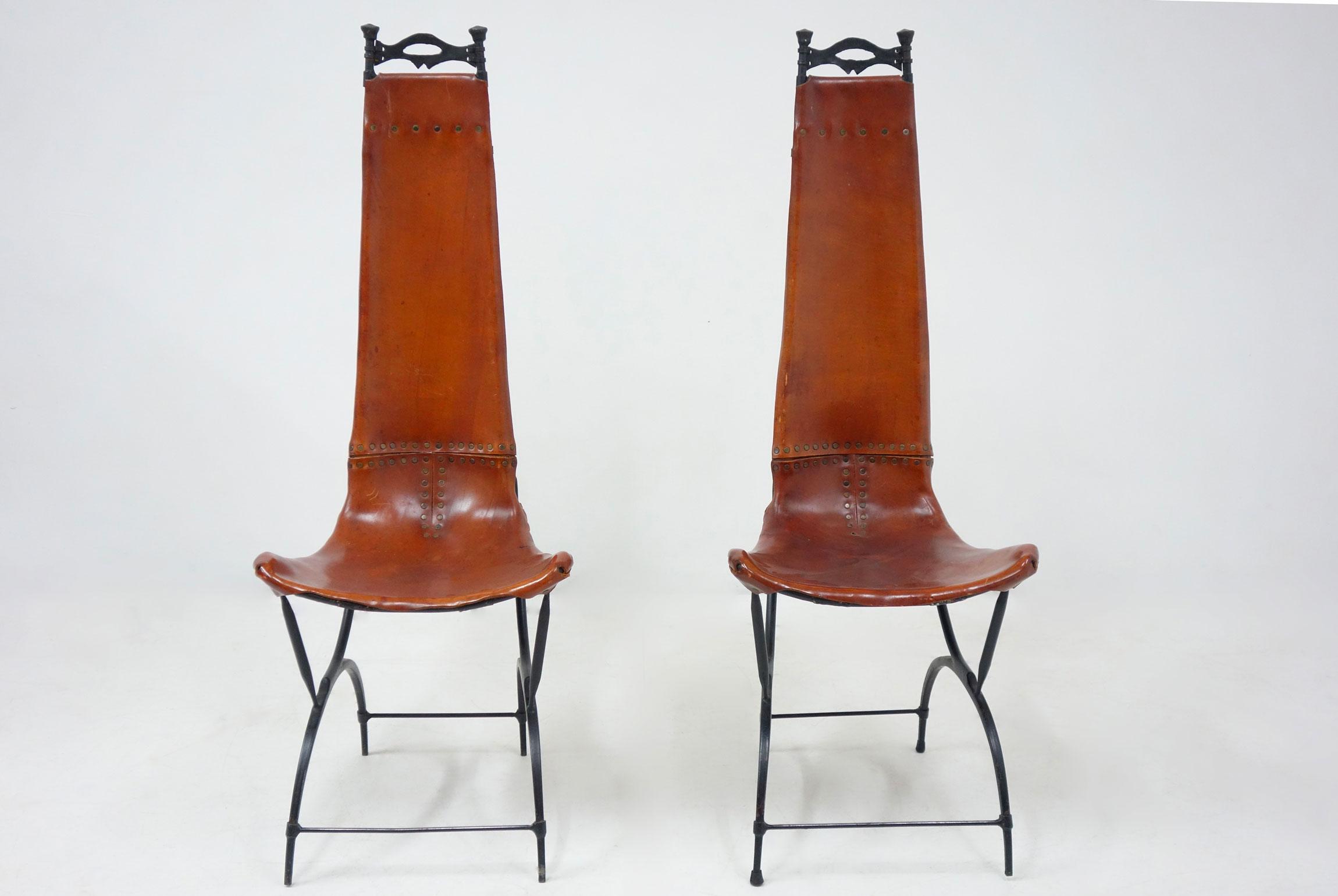Francois Thevenin et Sido Thevenin, Ensemble de 10 chaises, vue 03