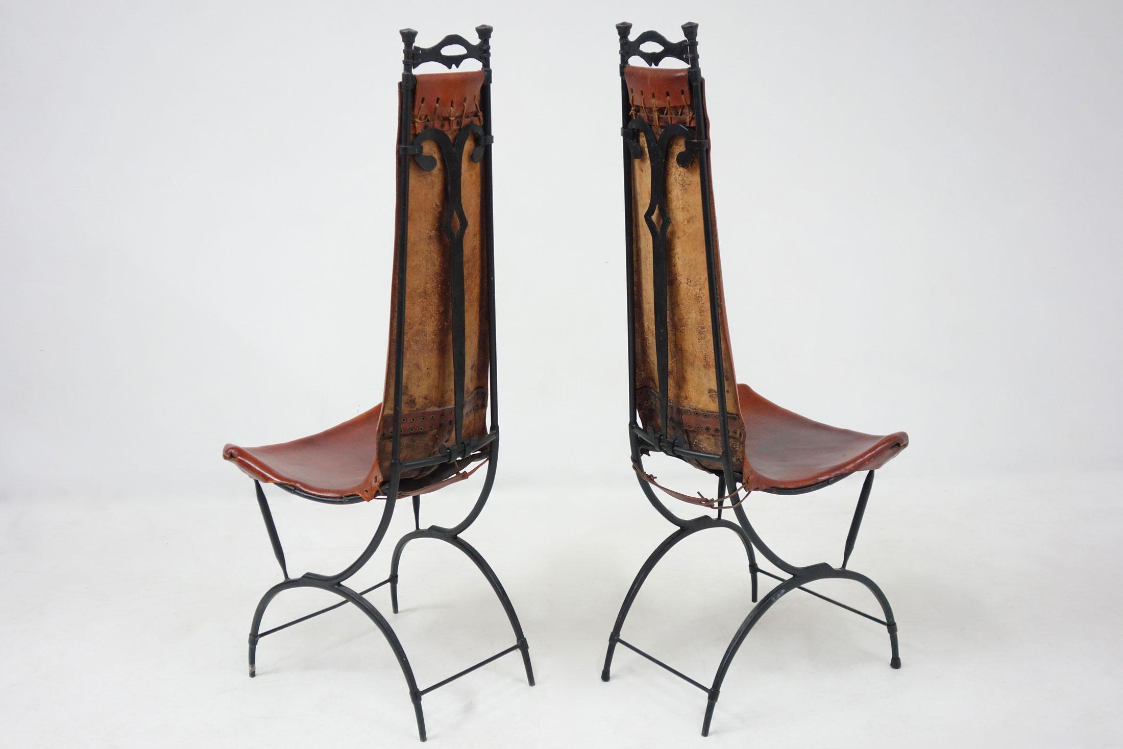 Francois Thevenin et Sido Thevenin, Ensemble de 10 chaises, vue 05