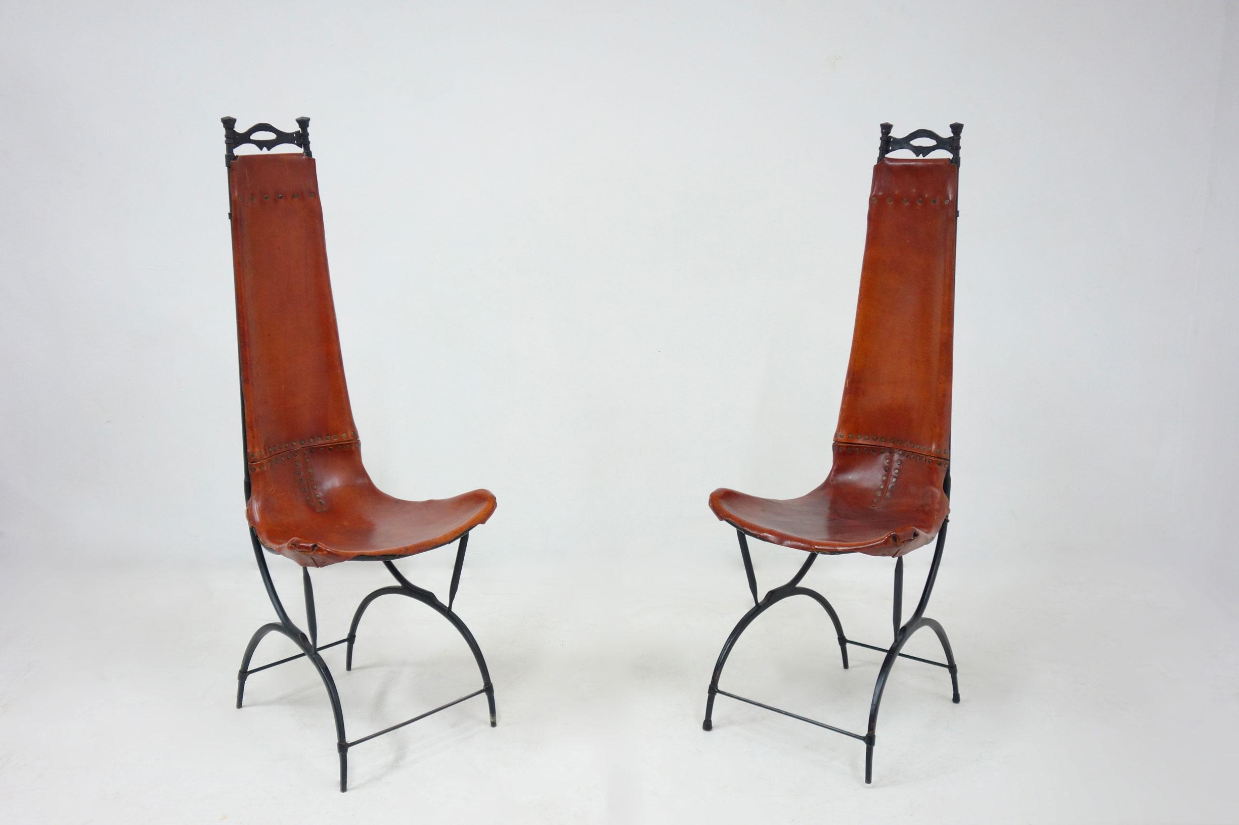 Francois Thevenin et Sido Thevenin, Ensemble de 10 chaises, vue 04