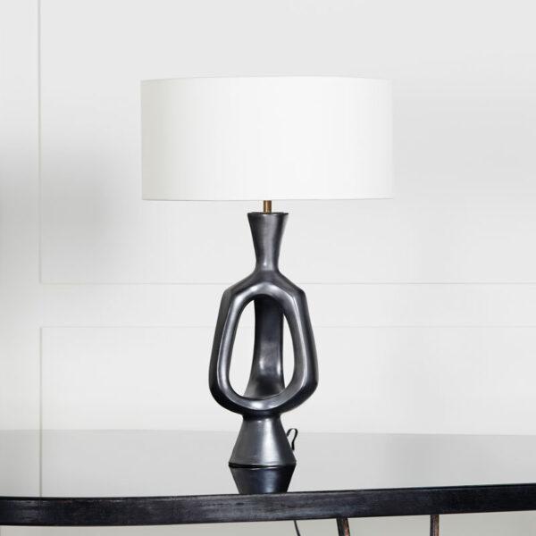 Georges Jouve, Lampe en céramique