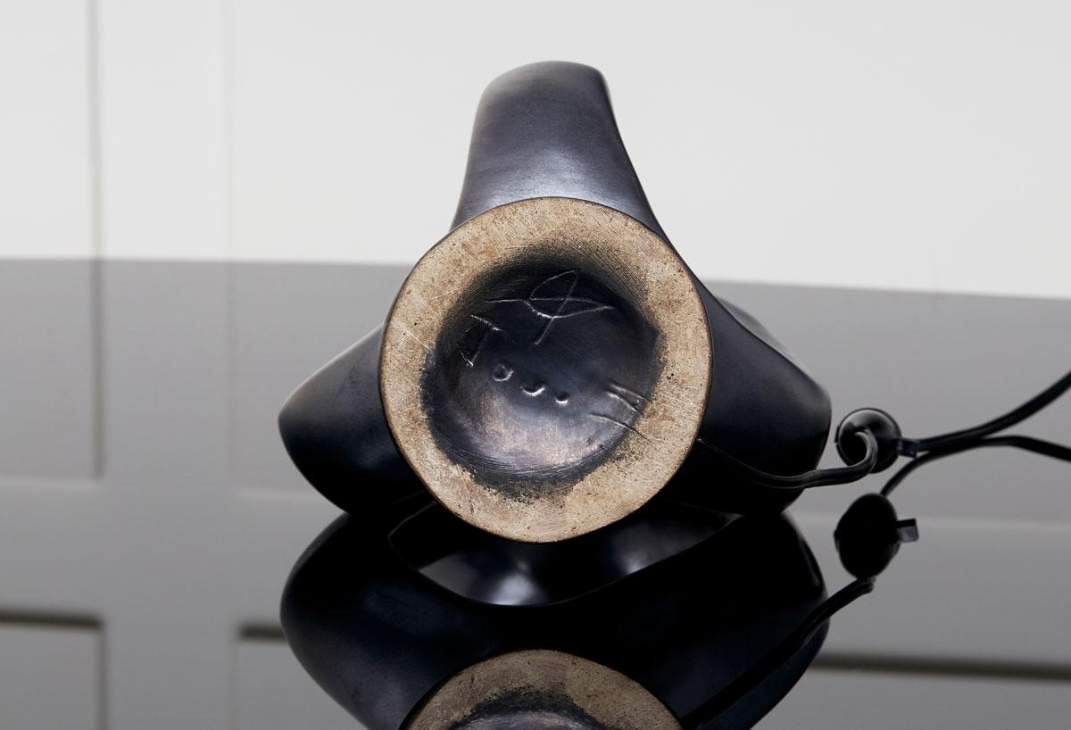 Georges Jouve, Lampe en céramique, vue 02