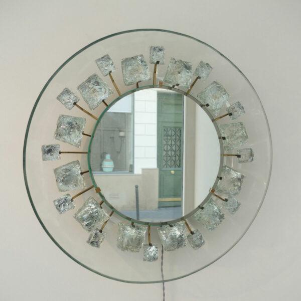 """Max Ingrand & Fontana Arte, Miroir """"Pistil"""""""