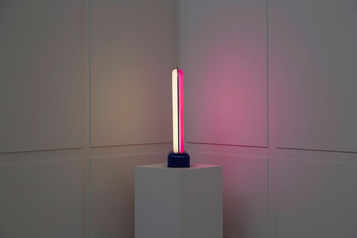 "Ettore Sottsass, Lampe ""Asteroïde"", vue 03"