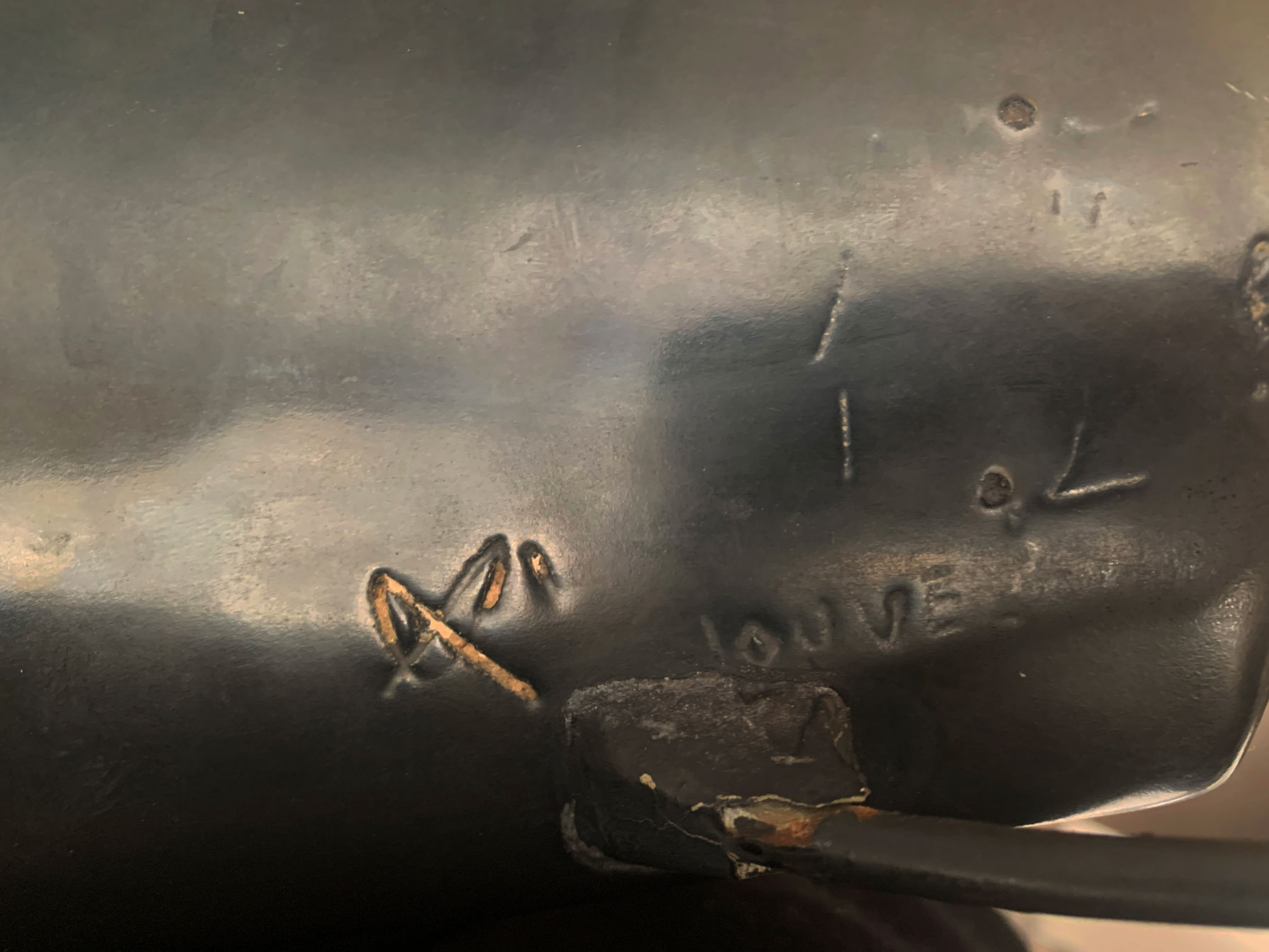 Georges Jouve, «4-legs bird» ceramic sculpture, vue 04