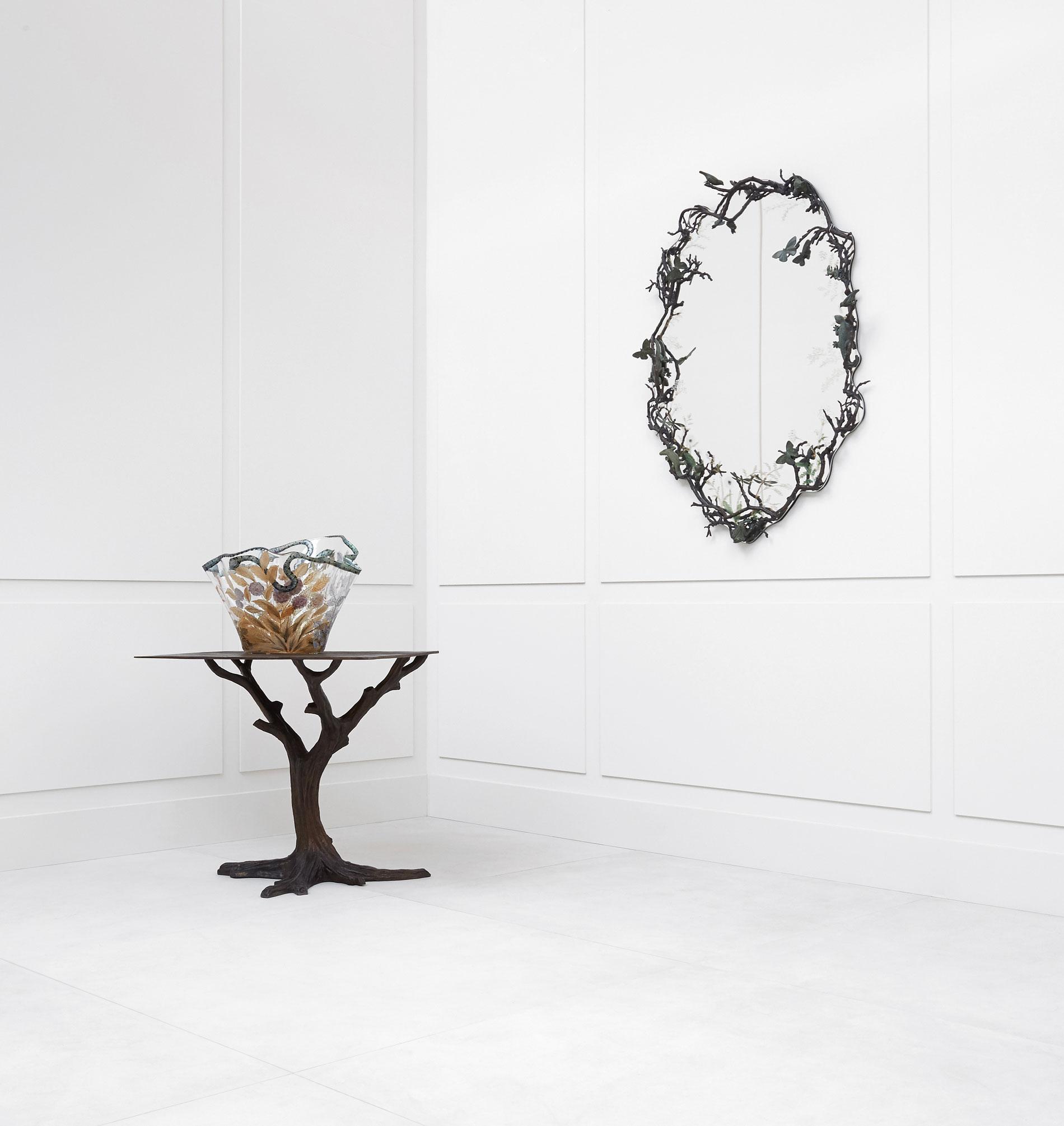Joy de Rohan Chabot, Guéridon «L'Arbre de bronze», vue 01