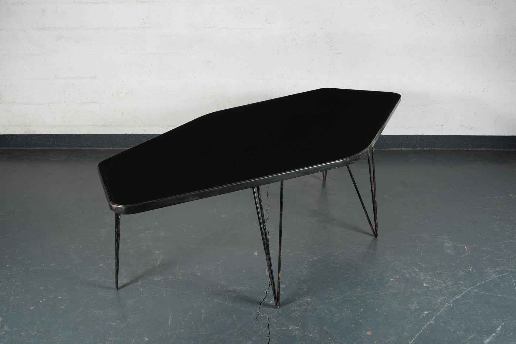 Joaquim Tenreiro, Importante et rare table «Abstrata», vue 01