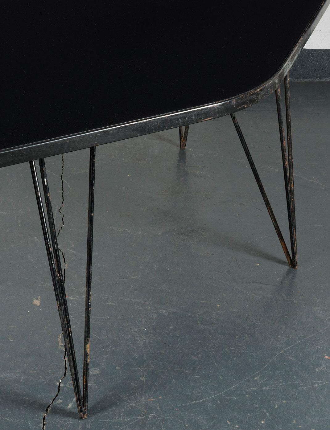 Joaquim Tenreiro, Importante et rare table «Abstrata», vue 03
