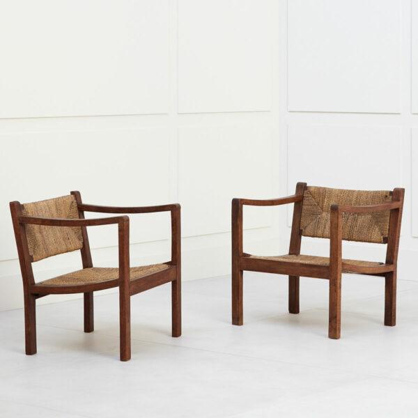 Eyre de Lanux, Paire de fauteuils