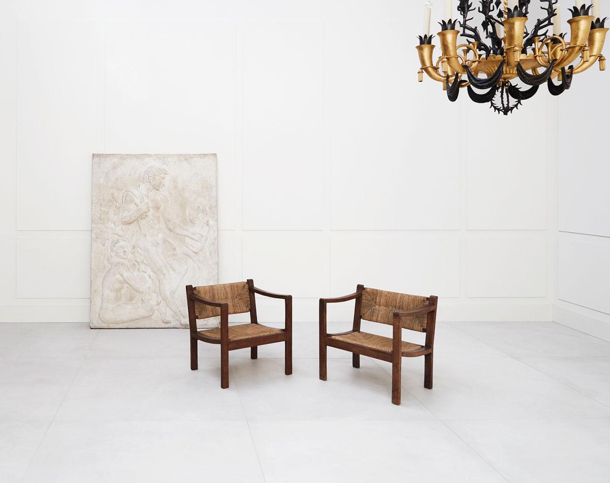 Eyre de Lanux, Paire de fauteuils, vue 05