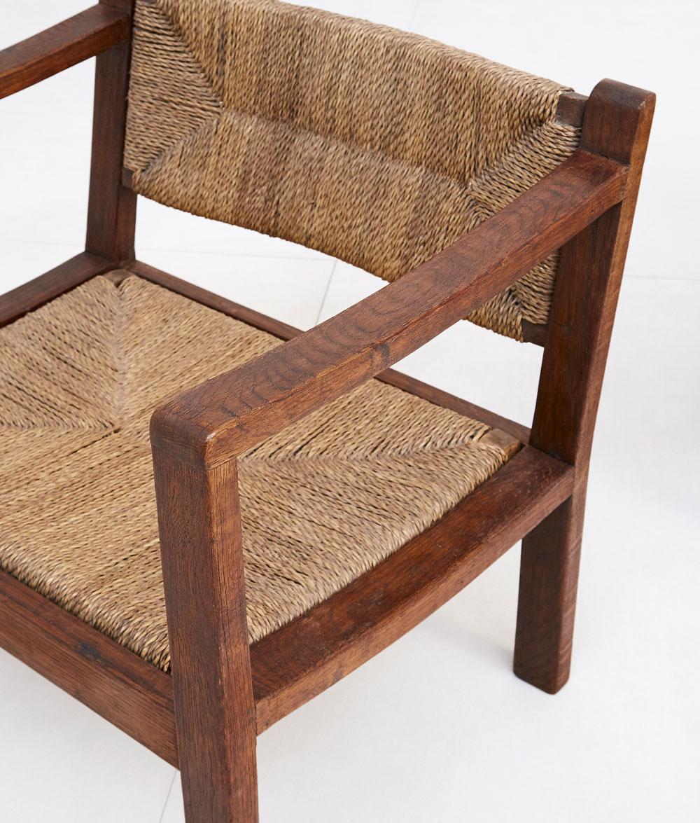 Eyre de Lanux, Paire de fauteuils, vue 03