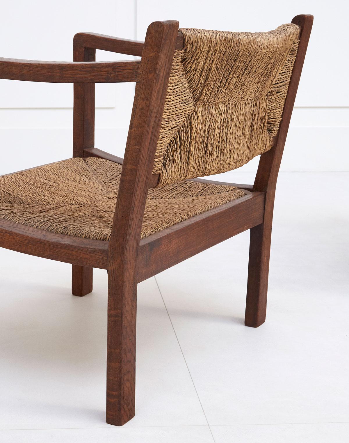 Eyre de Lanux, Paire de fauteuils, vue 02