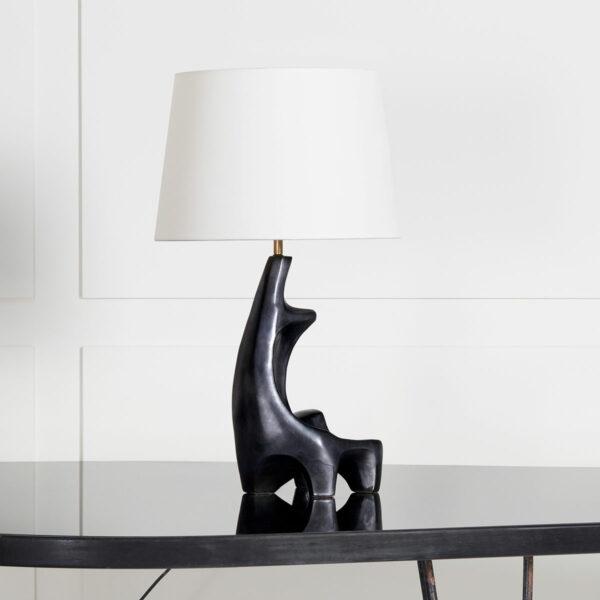 Georges Jouve, Sculptural ceramic lamp