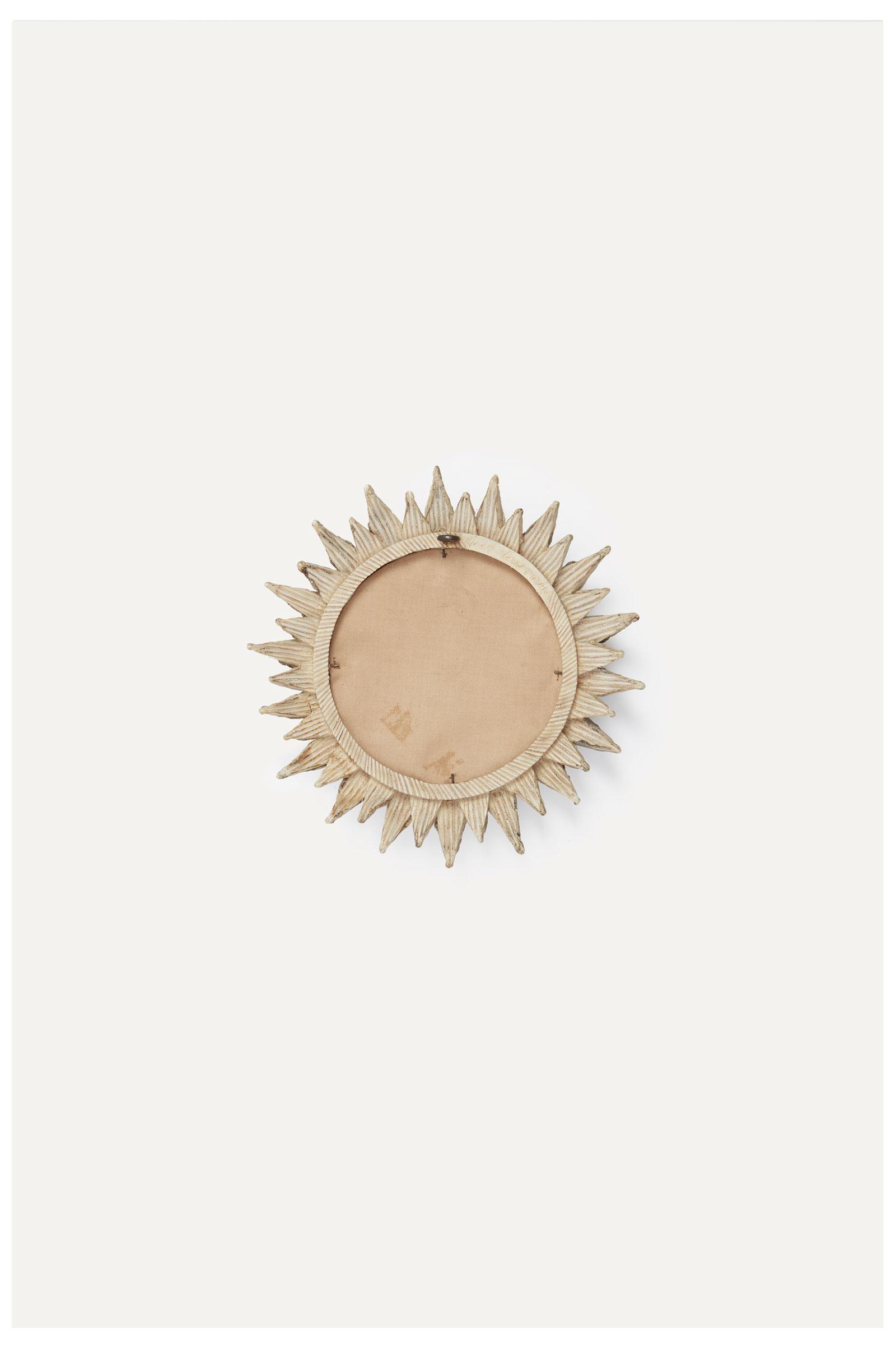 """Line Vautrin, Miroir """"Soleil à pointes"""" n°1 rose, vue 02"""