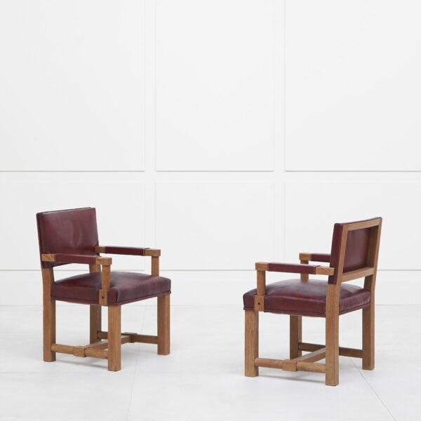 Paul Dupré-Lafon, Paire de fauteuils