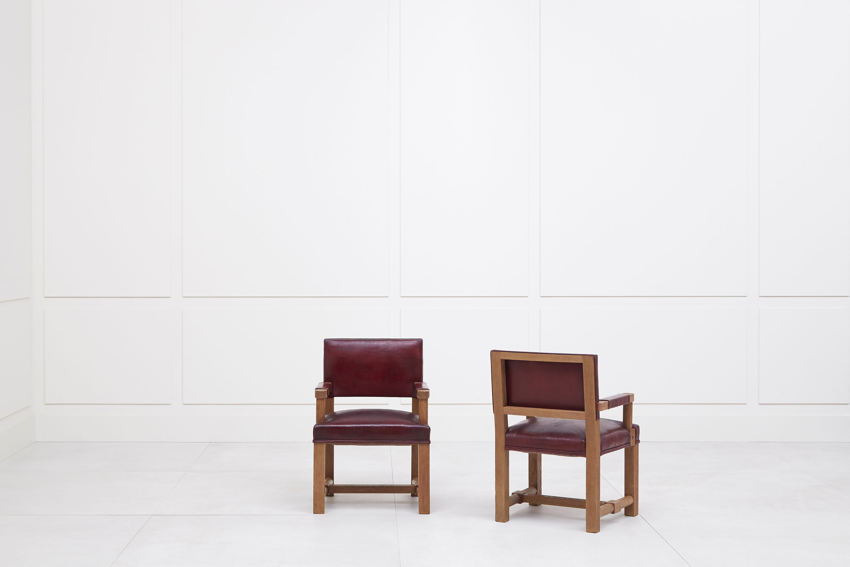 Paul Dupré-Lafon, Paire de fauteuils, vue 02