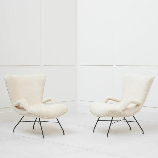 Carlo Hauner & Martin Eisler, Pair of armchairs
