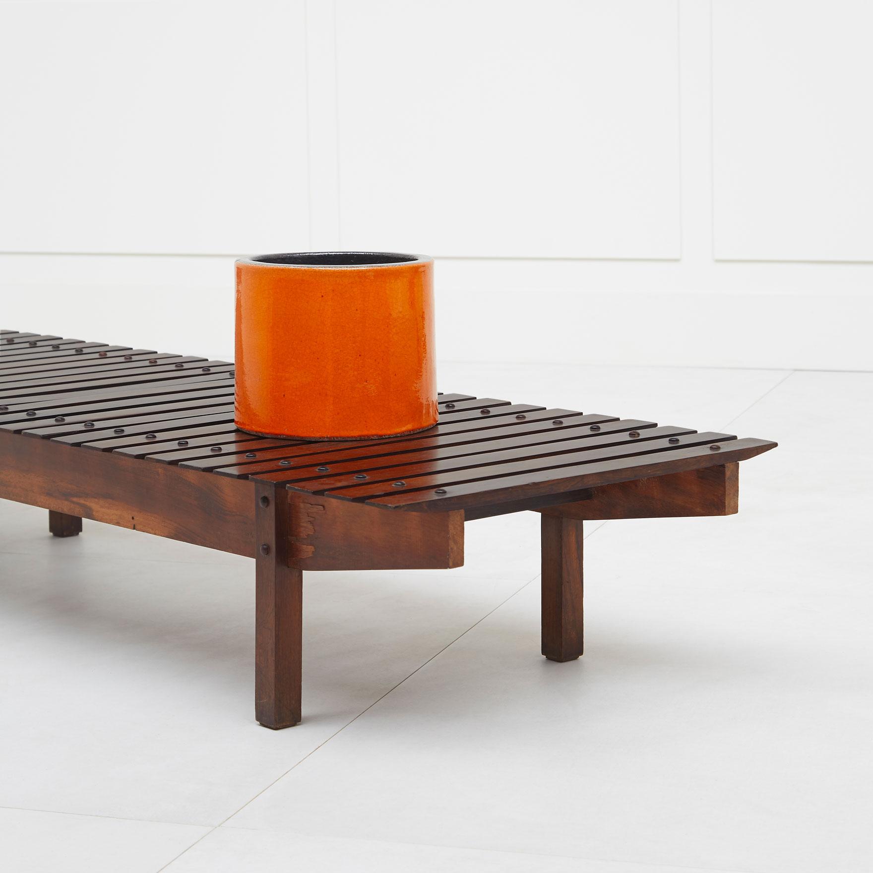 Georges Jouve, Important vase cylindre, vue 01