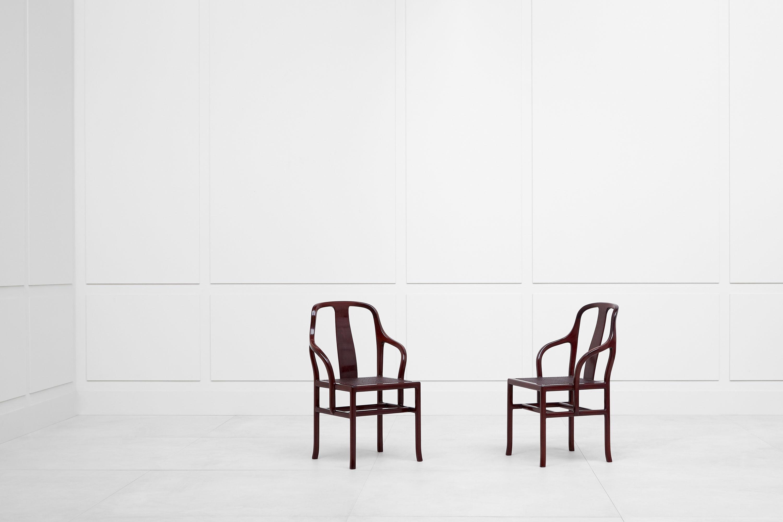Pierre Paulin, Paire de fauteuils «Palmettes», vue 01
