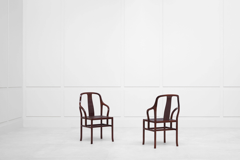 Pierre Paulin, Paire de fauteuils «Palmettes», vue 02
