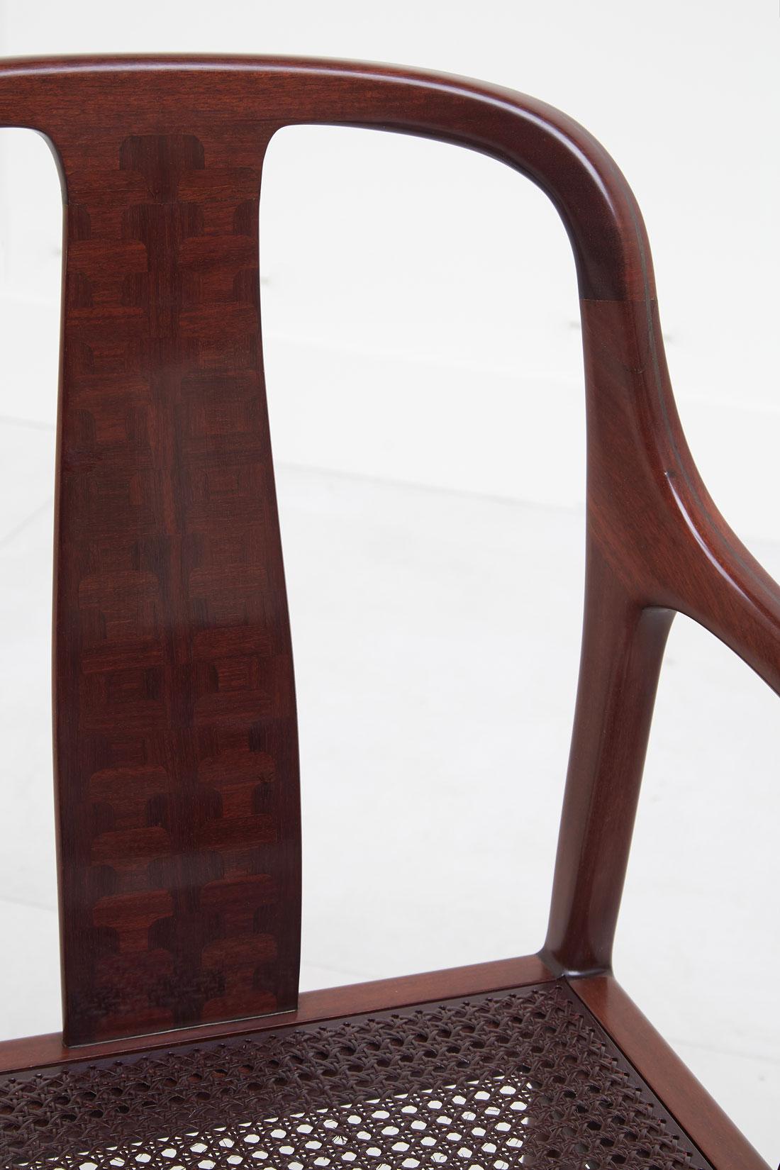 Pierre Paulin, Paire de fauteuils «Palmettes», vue 04